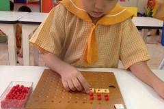 Montessori Math: Multiplication Board
